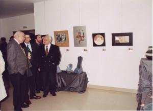Exposição de Pintura e Cerâmica do Dr. Vasco Branco - Dezembro de 1997