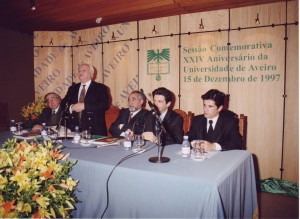 Sessão comemorativa do 24.º aniversário da UA - Dezembro de 1997
