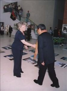 Visita de D. Ximenes Belo, à UA, no âmbito da Semana CPLP - Maio 2003