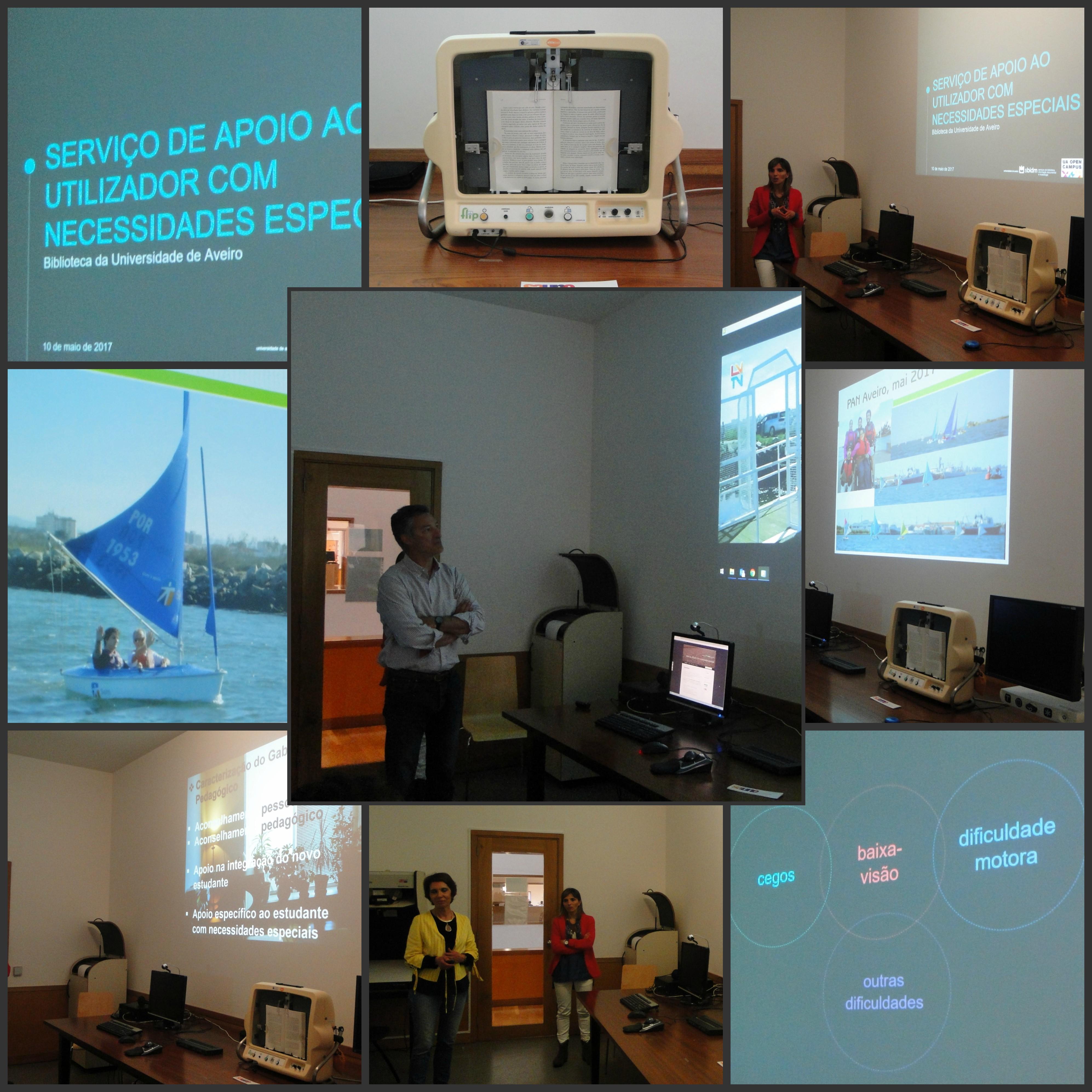 Fotografias da atividade A UA inclui - receber, incluir e integrar