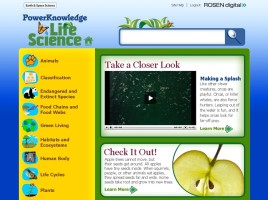 Imagem da plataforma PowerKnowledge Life Science