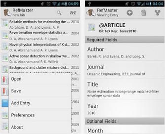 Imagem alusiva ao uso da aplicação RefMaster