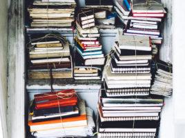 livros em papel