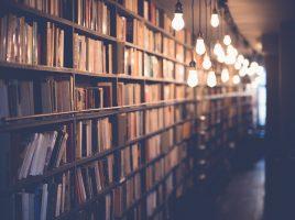 Depósito de livros.