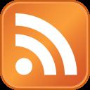 Ícone do RSS feed.