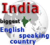 India biggest English speaking country