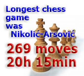 Longest chess game