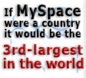 If MySpace were a country