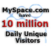 MySpace.com have 10 million