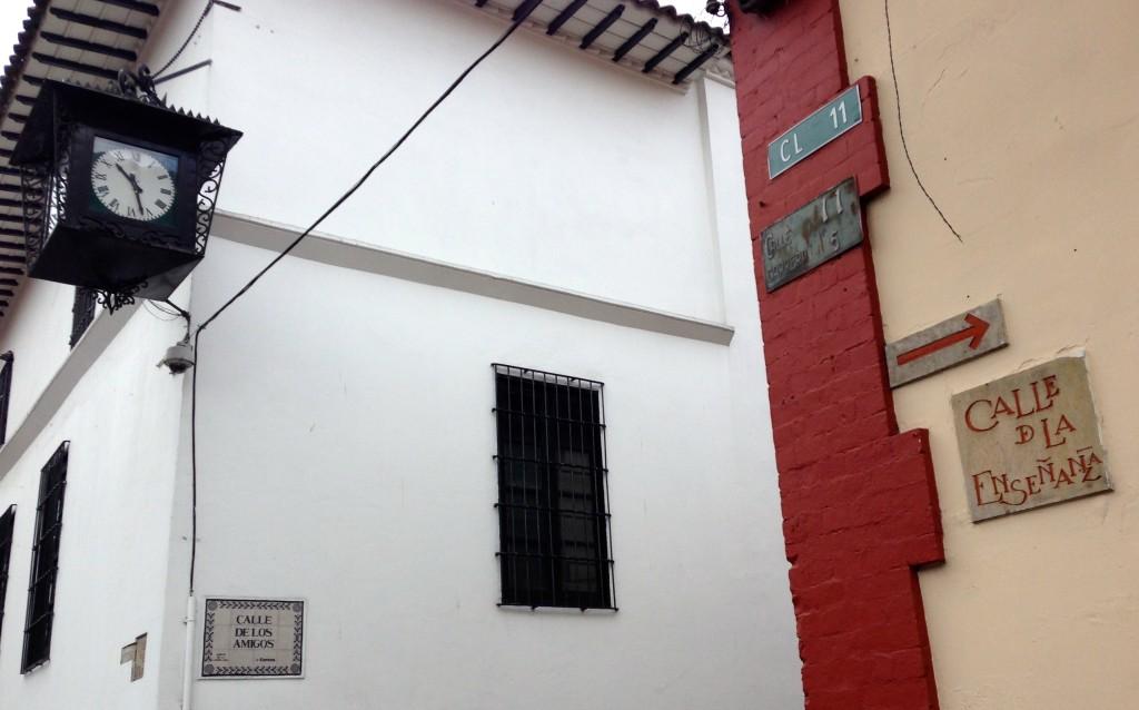 Rua dos Professores, Bogotá, julho de 2014