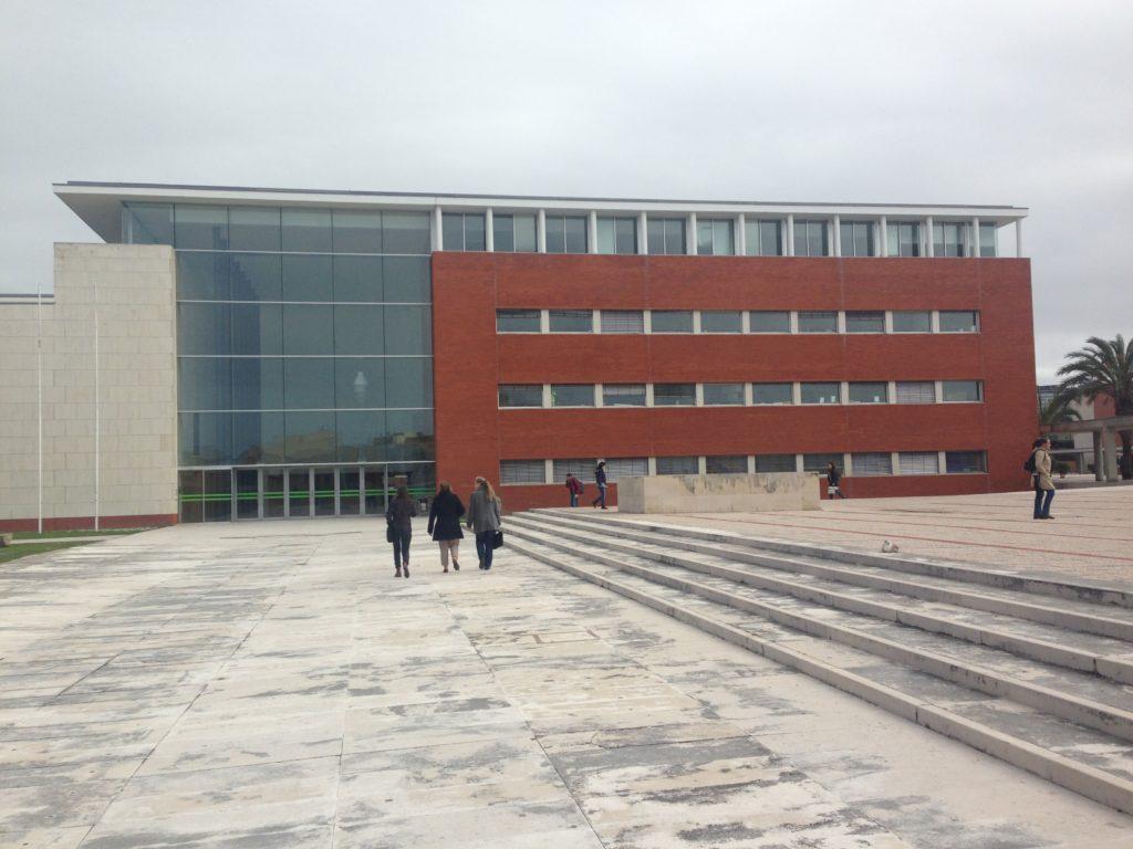 Reitoria da Universidade de Aveiro, março de 2016