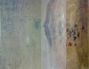O véu, Helena Ribeiro, 2012, Acrílico sobre tela, 100cm X 80cm
