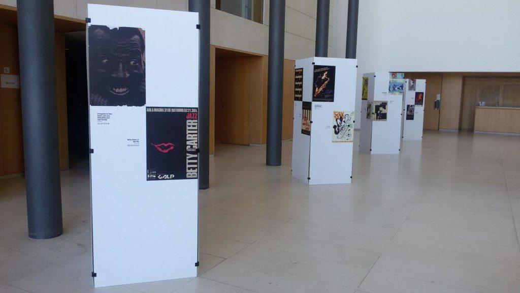 exposição cartazes jazz